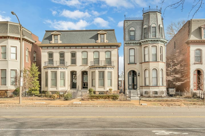 Tours of these beautiful French-style homes are offered twice a year in Lafayette Square.