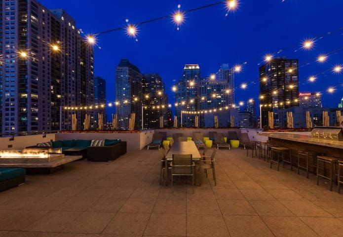 Entire Luxury River North Chicago Apartment