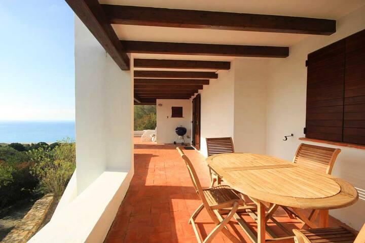 Villa Gabriella 10 sleeps sea view - Geremeas - Villa
