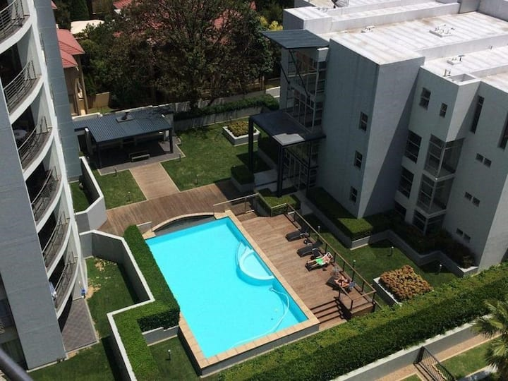 Tranquility in the middle of Sandton