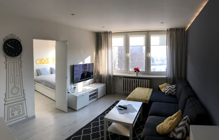 Cozy apartment - 850m on foot from COP24!