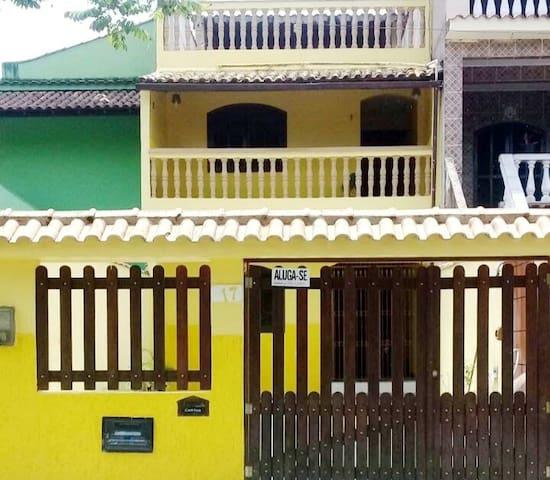Casa em Angra, 3 quarts 3 banheiro,para 10 pessoas