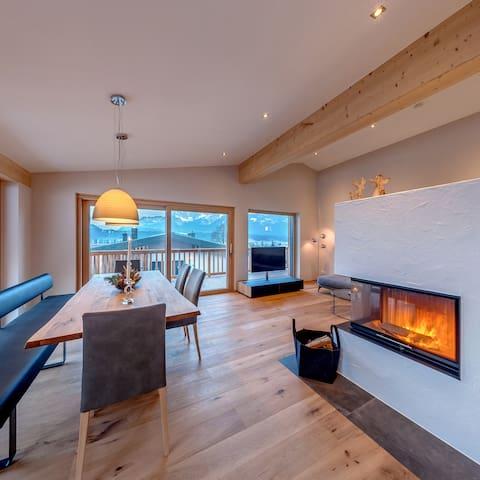 SKI IN SKI OUT, Penthouse mit Blick auf den Kaiser - Oberndorf in Tirol - Lägenhet