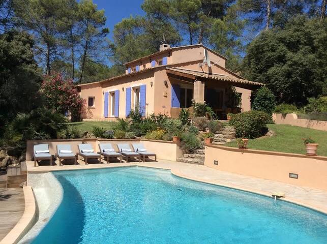 Les Hirondelles, a stunning villa in Provence - Lorgues - Villa