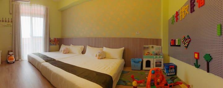 Mi Casa BNB-FAMILY ROOM-Near Taitung train station
