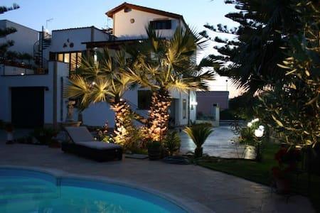 Casabianca - Appartamento con piscina e giardino - Marausa - Byt