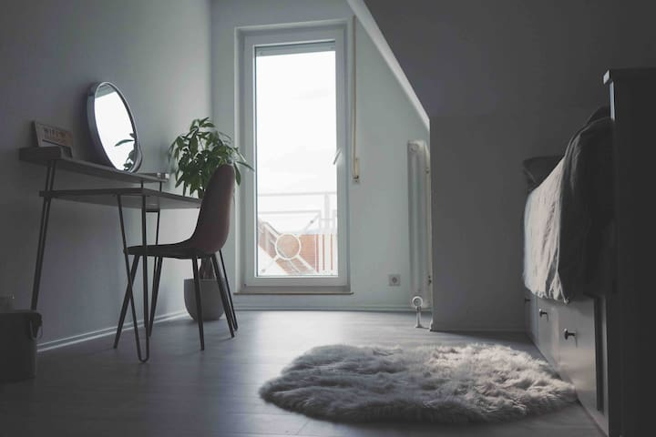 Private room in a cozy apartment