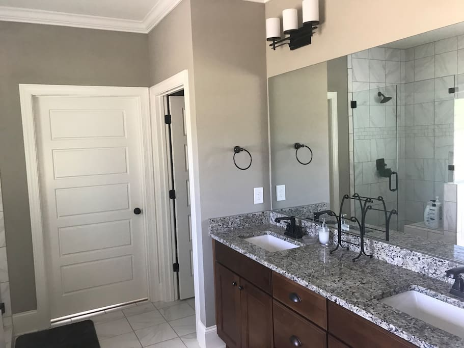 In-suite bathroom