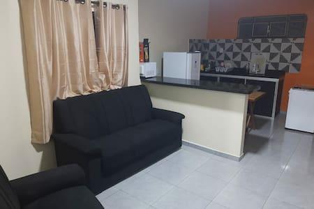 Apartamentos suite 100% mobiliados