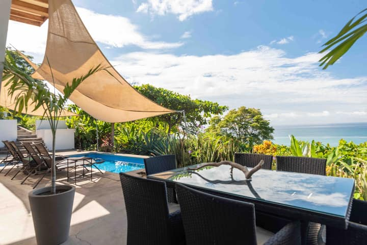 **Modern Oceanview Home w/ Pool and Sunset view**