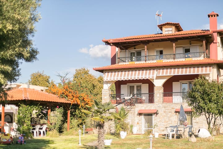 #FLH - The Tangerine House (6BDR) - Neos Marmaras