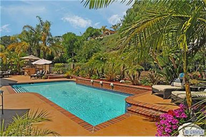 Orange County living in a private paradise!