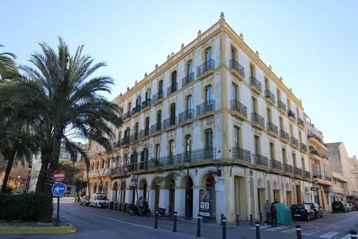 Stunning loft style home Ibiza town