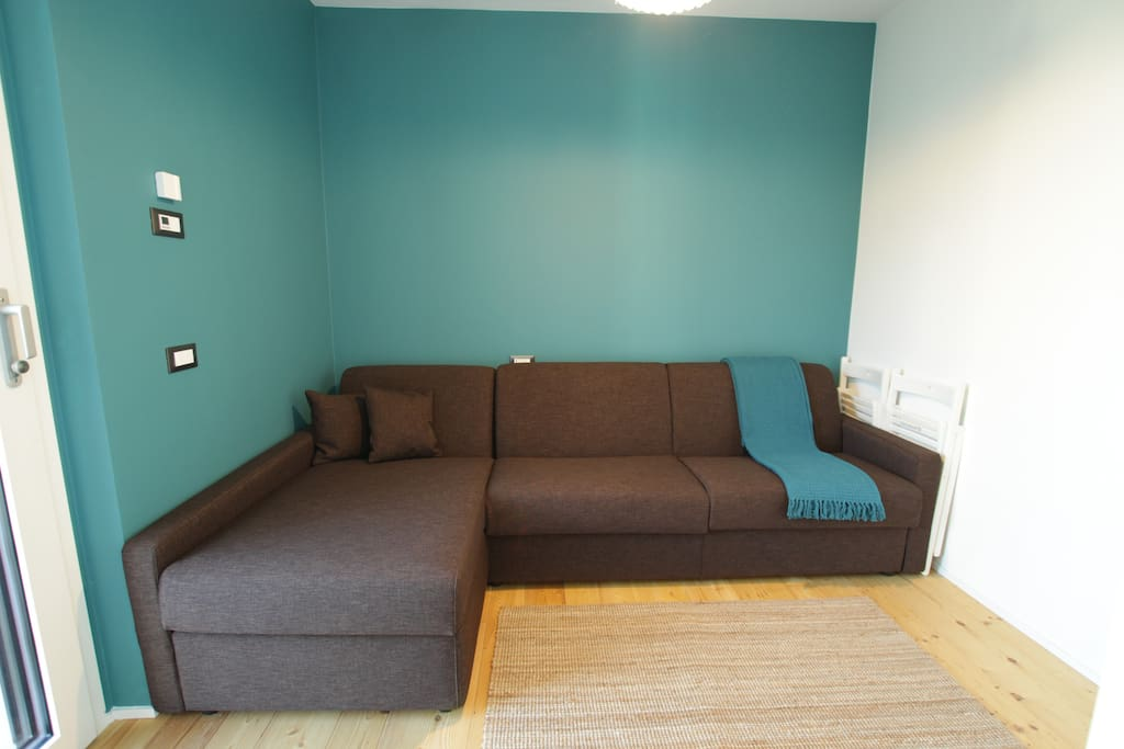 Super comfy huge sofa for relaxing, working, reading