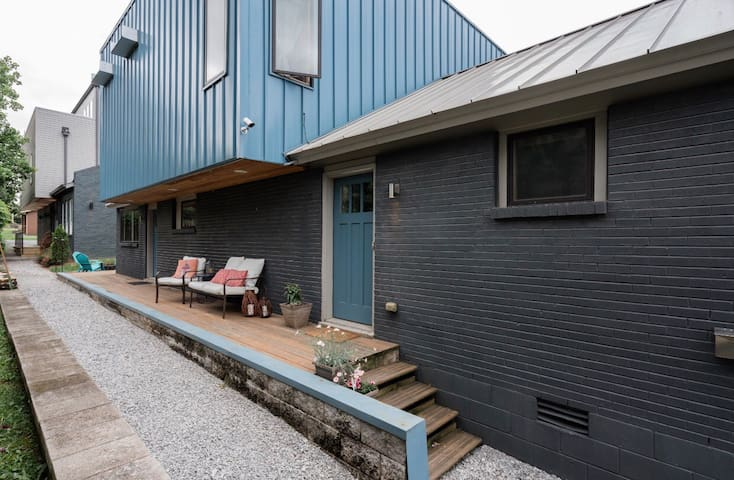 Modern, shipping container Downtown Nashville home