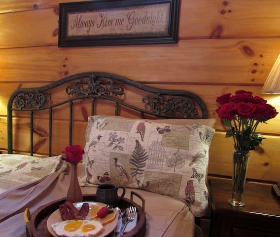 We encourage breakfast in bed