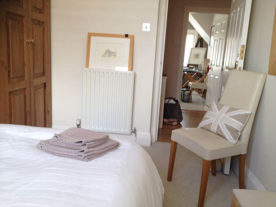 Bright and spacious double bedded room