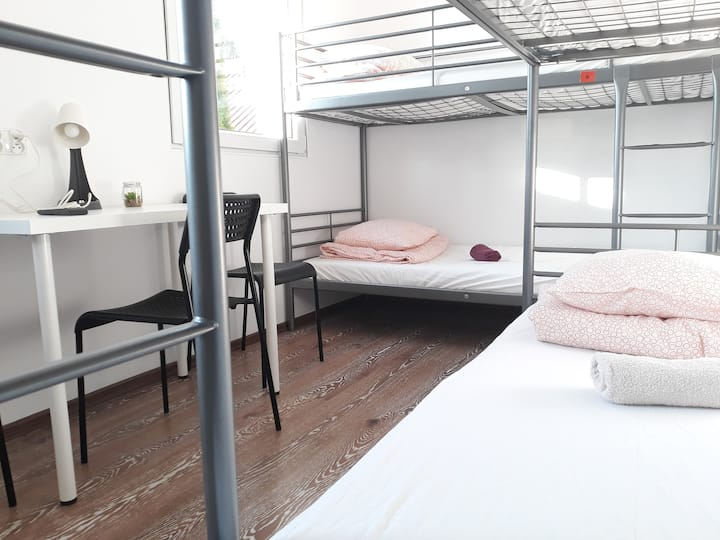 ✈ 6People Room FREE TRANSFER out/to Chopin Airport