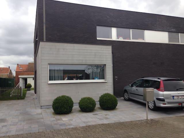 Moderne woning in rustige straat! - Jabbeke - Casa