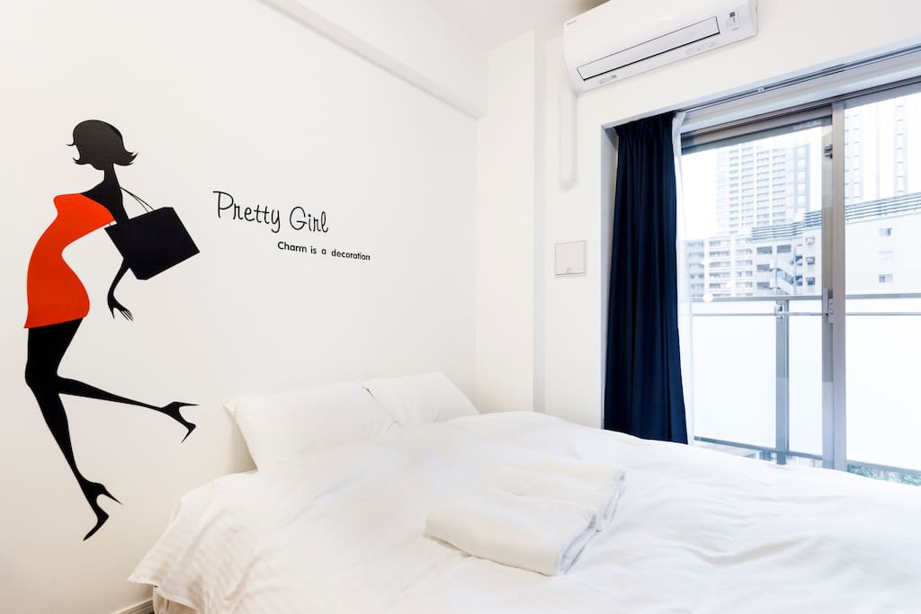 Bright and luxurious living space in Osaki