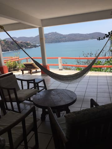 Bungalow vista al mar - Zihuatanejo - Apartment