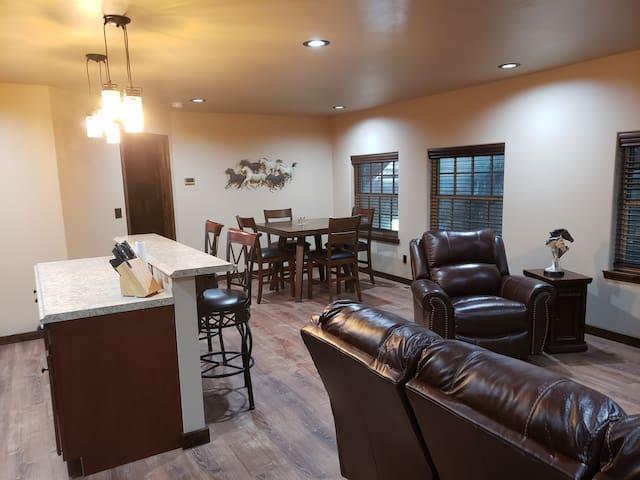 Ranch apartment.