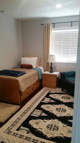 cozy room in quiet neighborhood