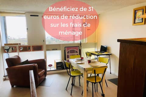 Apartment in a historic building near Nantes / Airport 10 min