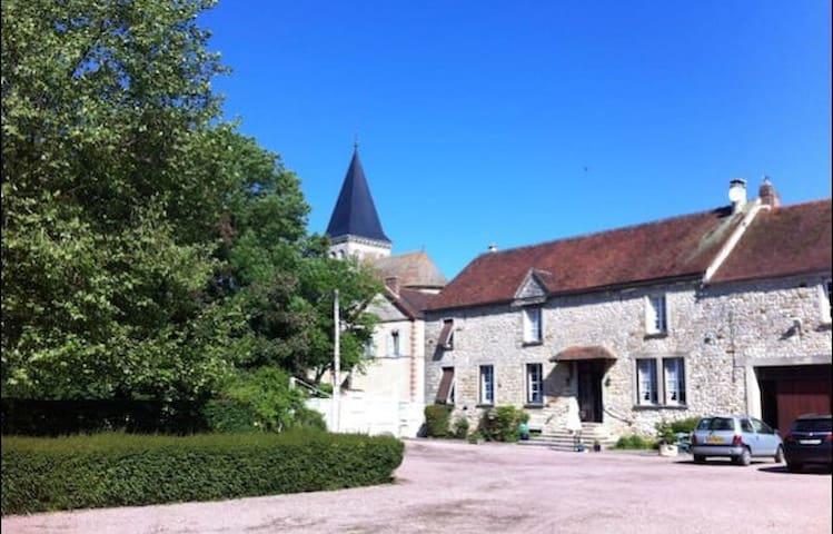 Belle ferme briarde à la campagne - Beauchery-Saint-Martin - Casa