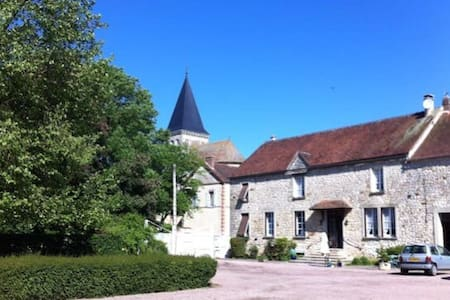 Belle ferme briarde à la campagne - Beauchery-Saint-Martin - Huis