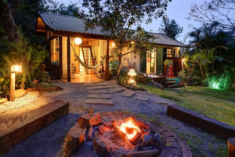 Enchanted Creek Forest Chalet