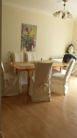 Dbl bedroom with ensuite, and TV. - Dublin - Flat