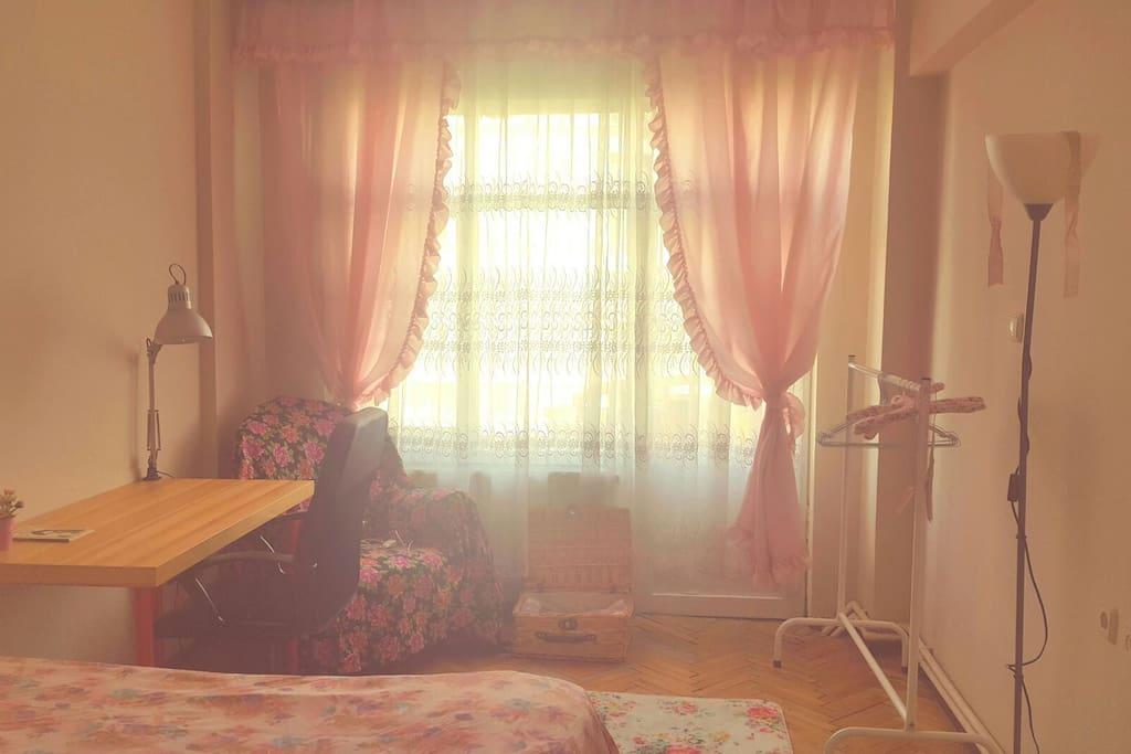 Your bedroom...