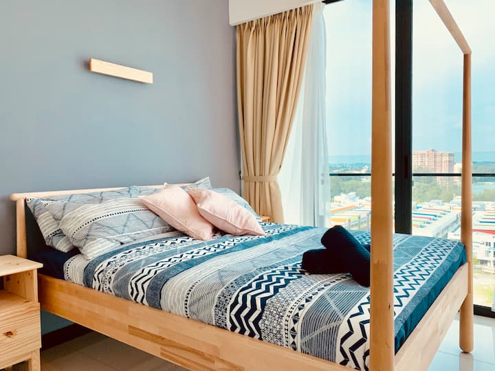 PD D'Wharf Residence - Superb Seaview(Up to 9 Pax)