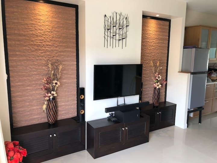 Quiet 72 sqm apartment in Rawai, Phuket