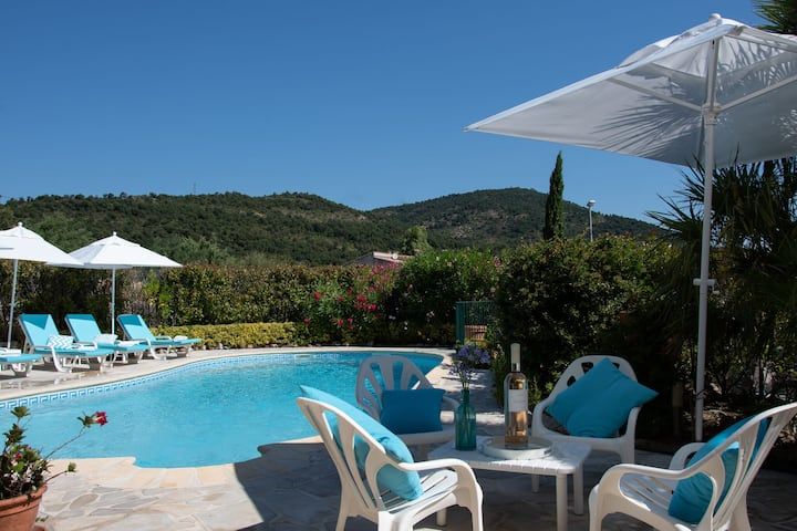Gorgeous Villa in 	Les Issambres with Swimming Pool