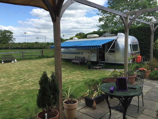 Original 1970's Airstream - Kirdford