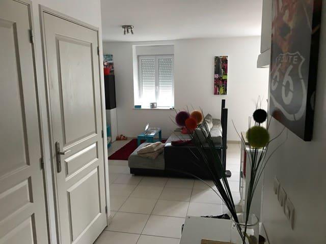 Chambre privé dans Village. - Saint-Alban-les-Eaux - Huoneisto