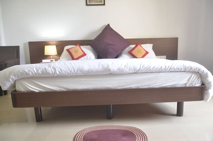 one beautiful room near Varuna river