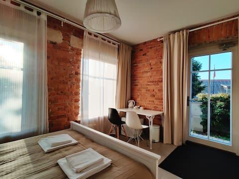 Relax and feel free near lake in Trakai Center