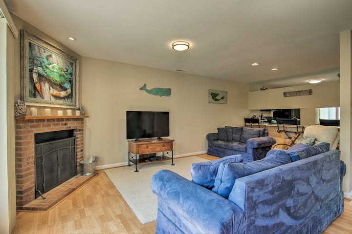 NEW! Family Townhome w/Deck-Walk to Bethany Beach!