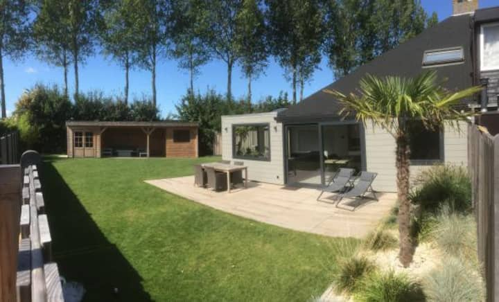 Holiday cottage 6 pers with sauna in Zeeland