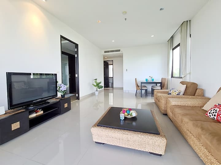 The Sunny Sea view 2 BR@Rayong/POOL
