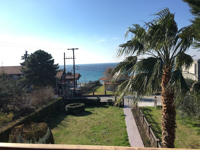 House in coastline with amazing view(30m from sea)