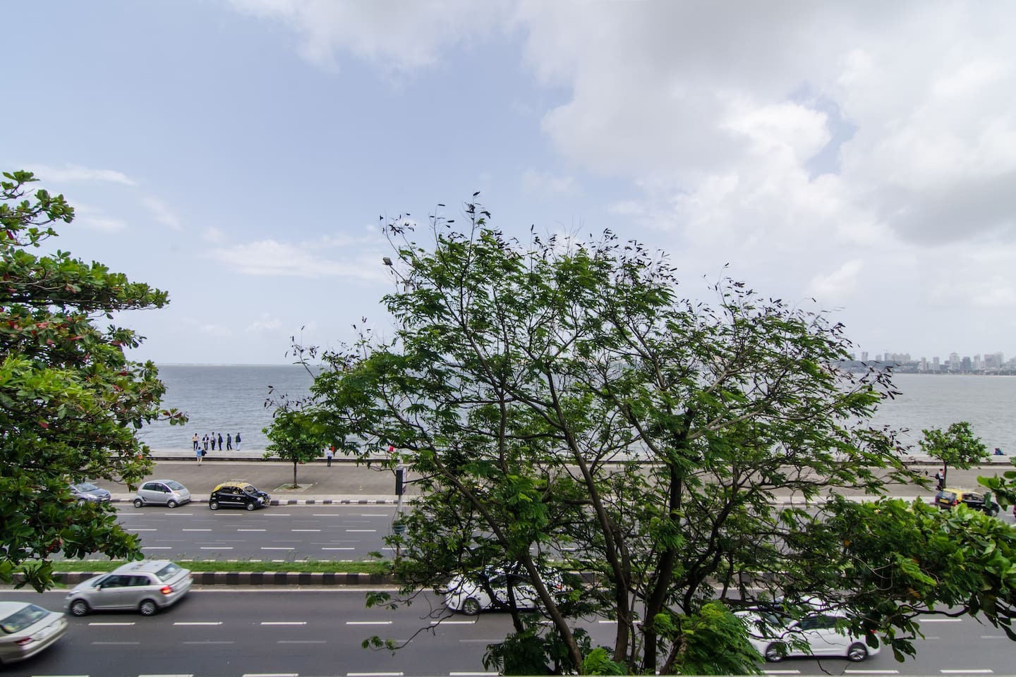 A gorgeous view of the queens necklace from your room balcony