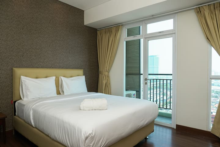 City View Studio Apartment at Puri Orchard