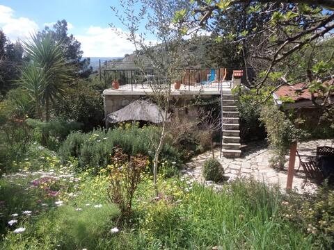 """Oleander"" stone house Lemona, Paphos"