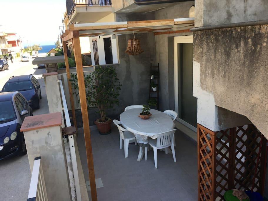 Veranda/Tavolo all'esterno