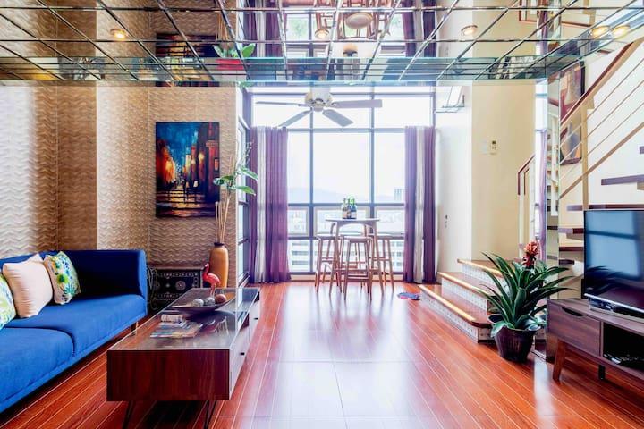 2-storey 2BR cozy condo in the heart of Metro Cebu