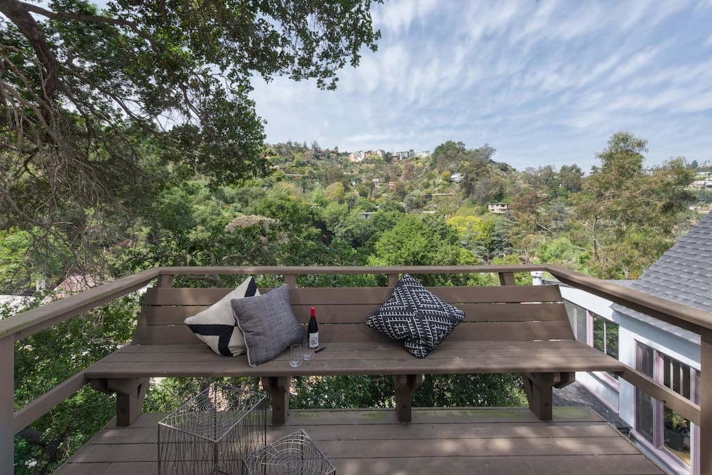 Gorgeous views from your private deck